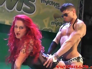 Camila Montalban Erotic Demonstrate With Ben Sem 2015