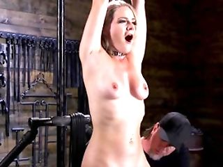 Lisey Sweet Becomes A Enslaved Dame And Master Masturbates Butthole