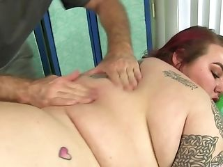 Bbw Big Tender Has Her Fat Assets And Hairy Honeypot Massaged
