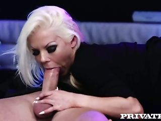 Bright And Amazing Blonde Super-bitch With Rough Makeup Barbie Sins Gonna Rail Dick