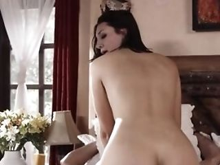 Former Girlfriend Comes To Bearded Dude To Be Fucked In The Bedroom