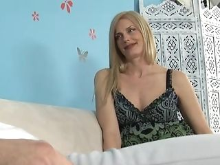 Matures Blonde With Natural Tits Gives The Best Hand Jobs Ever