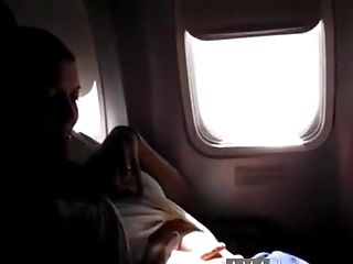 Wifey Taunting On The Webcam On Plane