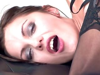 Gorgeous Cougar In Stockings Dominica Phoenix Is Finger Fucking Gash Rear End Style