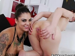 Amazing Porn Industry Stars Sarah Shevon, Bonnie Rotten, Mick Blue In Incredible Ass Fucking, Adult Movie Stars Xxx Movie