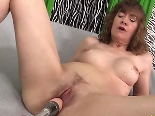 Sexy And Horny Matures Woman Likes Their Cooters Drilled By Fucking Machines