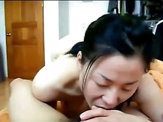 Sexy Asian Wifey Gets Her Hairy Poon Fucked By Her Hubby In Sofa.