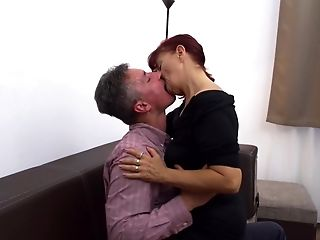 Ginger-haired Ultra-kinky Matures Mummy Gash Ate And Fucked Rear End Style