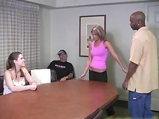 There Is Nothing Finer For Katie Thomas Than A Threesome On The Table